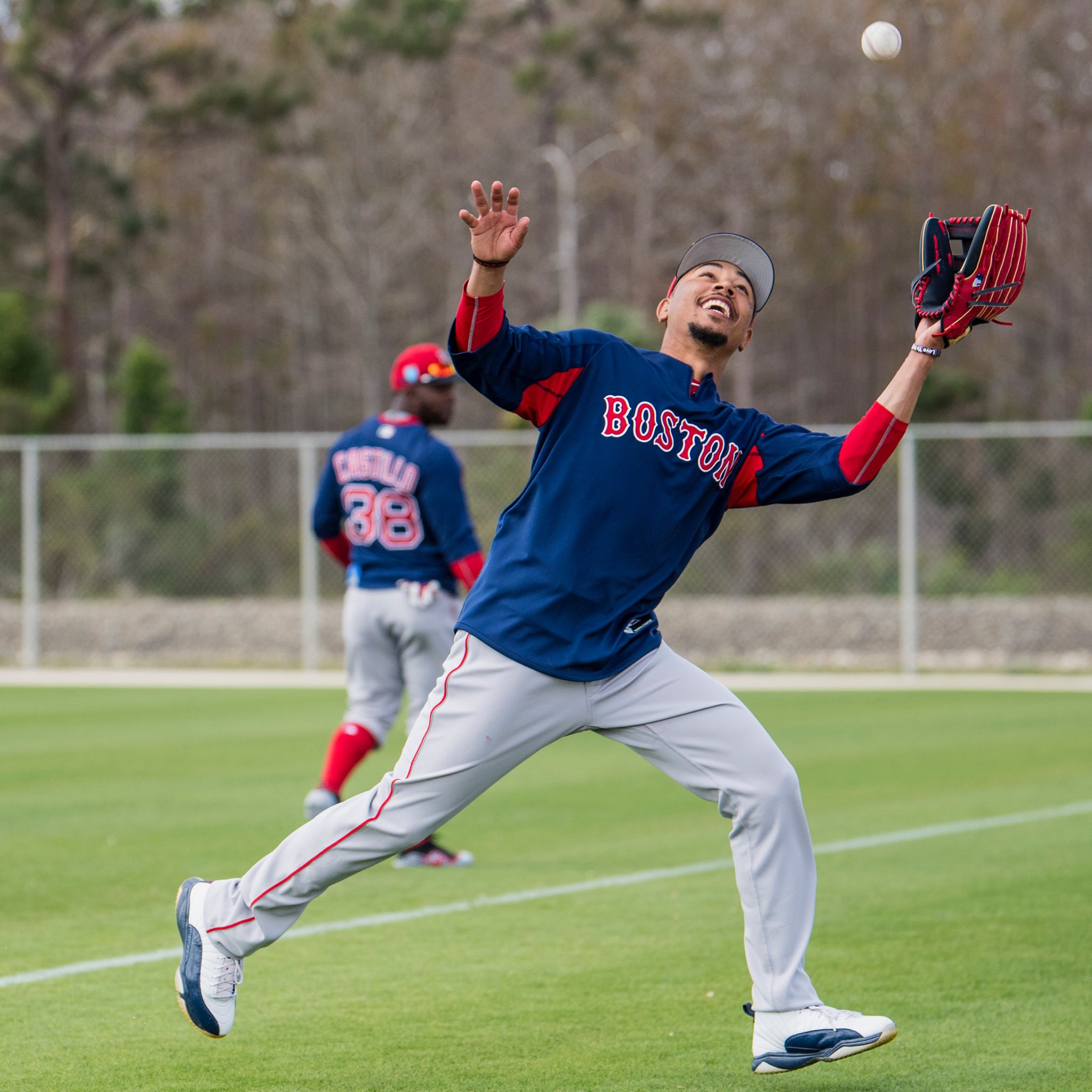 A brief glimpse into #SoxSpring:  Fielding Fielding  Fielding Fielding  Fielding  Fielding  Fielding https://t.co/JJKEbbatLl