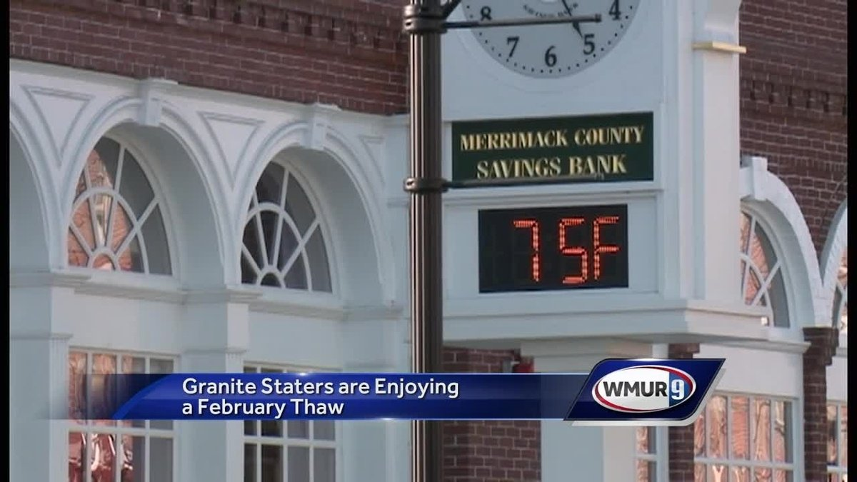 Granite Staters enjoy warm weather