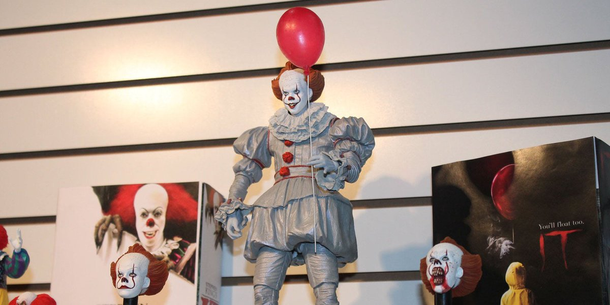 Toy Fair 2018: NECA Scares Up It, Alien, Predator, Del Toro and More #TFNY   https://t.co/a6AoNWnjbI https://t.co/DKFdakSyp2