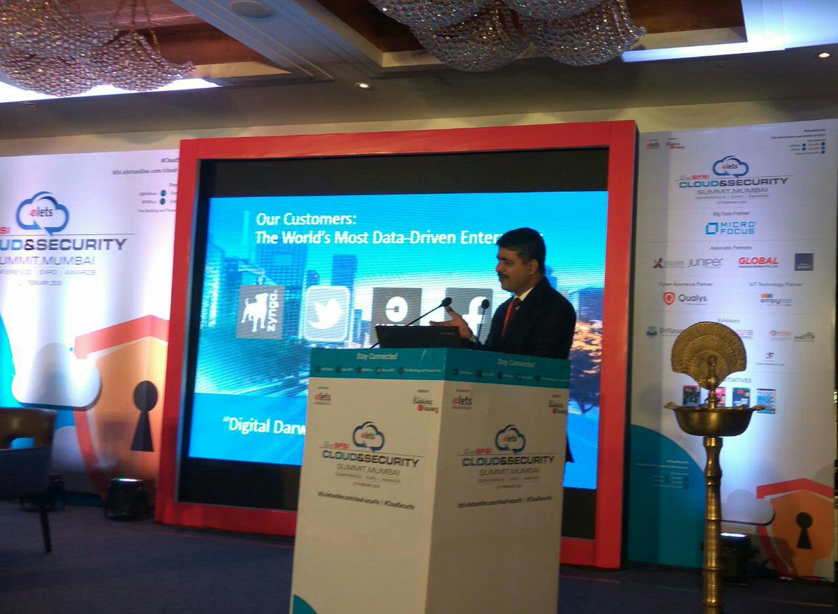"test Twitter Media - Haresh Krishna Kumar N, Country Manager-Vertica, @MicroFocus sharing his views on "" Analytics on Security & Fraud"" at 2nd #BFSI Cloud & Security Summit, #Mumbai #CloudSecurity https://t.co/zPGIP4I4hy"