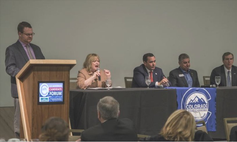 Colorado Republican governor candidates challenge state policies at forum