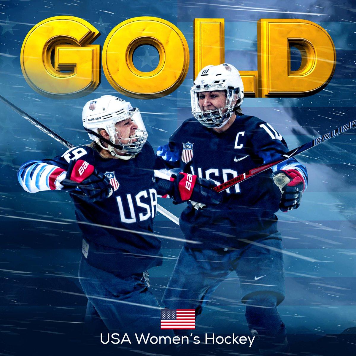 @TeamUSA IS GOLDEN!   The @usa WinterOlympics
