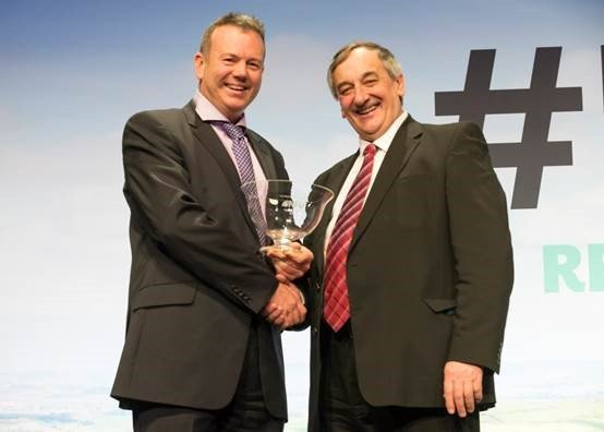 Farmer reaps top NFU award