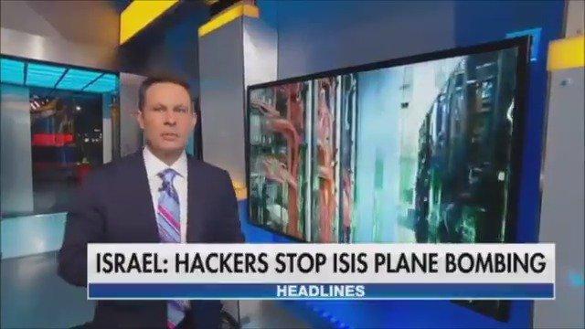Elite Israeli hackers stop ISIS plane bombing plot, Prime Minister says https://t.co/vrTuaYmeOB