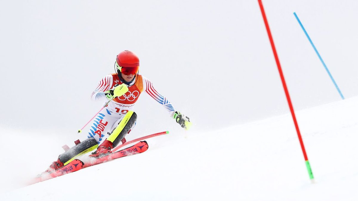 Shiffrin gets silver in combined; Vonn skis out https://t.co/LZhYia33sG https://t.co/rEP9c1LgpH