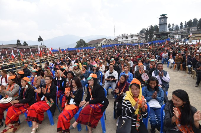 Here are some pictures from Nagaland. @BJP4Nagaland https://t.co/Ka9sqNzV1J