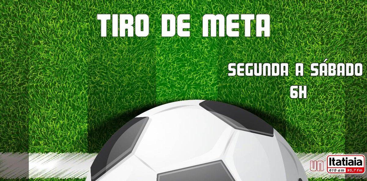 Bom dia, desperte com as primeiras noticias esportivas do dia com @eniolimamarcou no Tiro de Meta. https://t.co/i4oMVn99lE