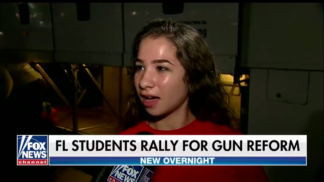 Florida school shooting survivors return home from Tallahassee after talking to lawmakers about gun control. https://t.co/IJ9yT7Z2Oz