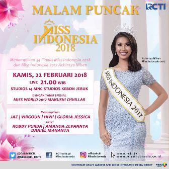 #MissIndonesia2018