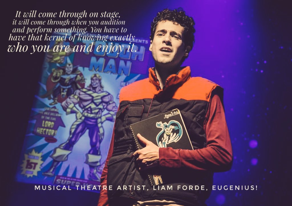 test Twitter Media - More quotes like this and more from #musicaltheatre performer, Liam Forde @eugeniusuk. #GoEugenius.  https://t.co/Y9ZpaU6g6Q https://t.co/nY4lkkgG1J