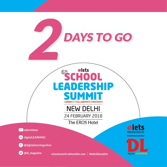 test Twitter Media - 2 Days to Go for Elets 6th School Leadership Summit in New Delhi!  Visit: https://t.co/AXzzpd2XxW #eletsEducation #SLS2018 #Education #Conference #SchoolFranchise #Schools #Preschools #Innovation https://t.co/cGsgEdiOBI