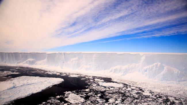 Antarctica's glaciers are on the run