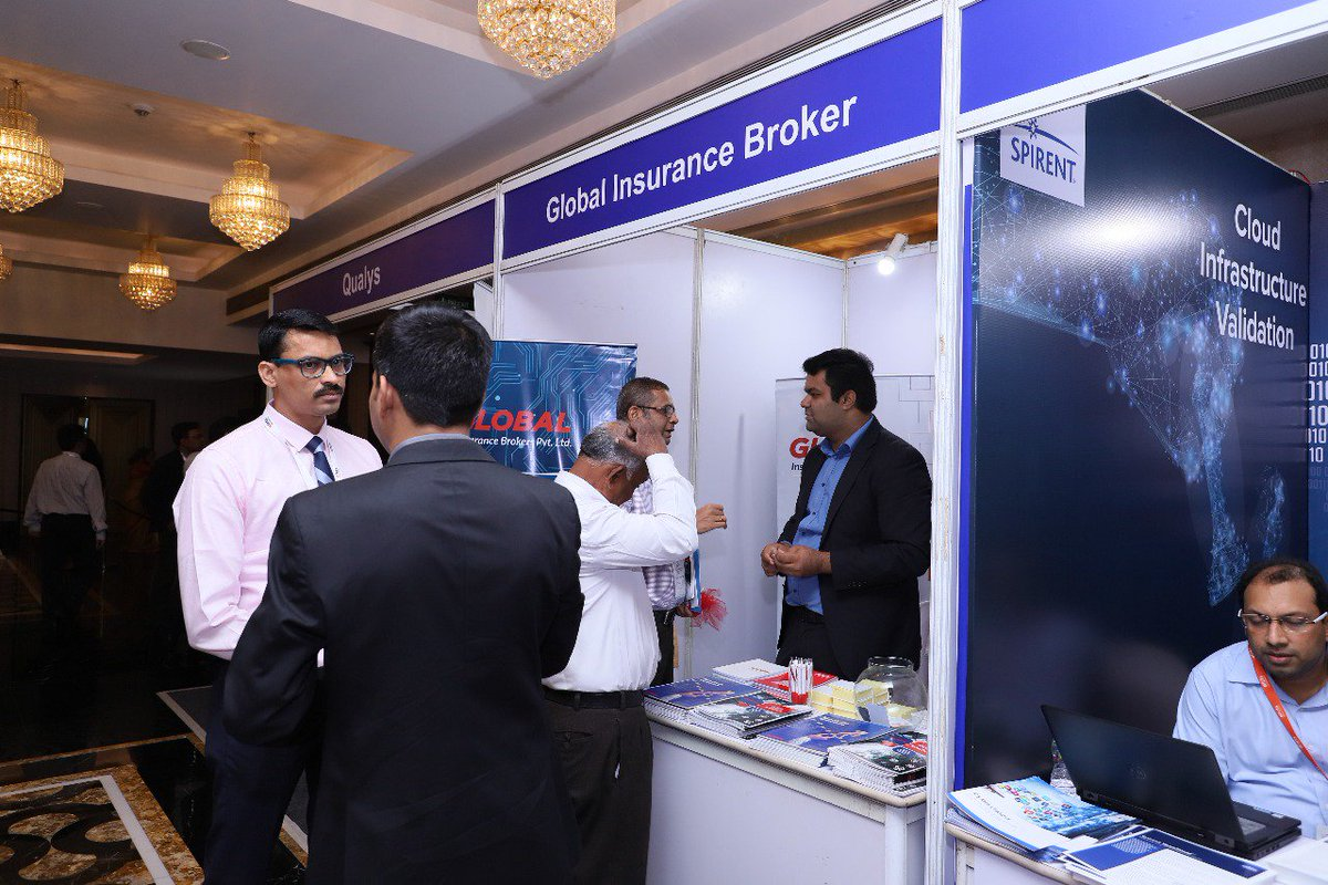 test Twitter Media - Global Insurance Brokers (@Globinsure) participating as an Exhibitor at 2nd #BFSI Cloud & Security Summit in #Mumbai. https://t.co/OSV1tBmnXY