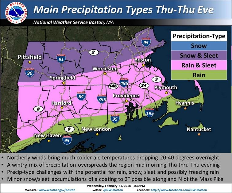 Record high temps but a memory as rain, wintry mix move in