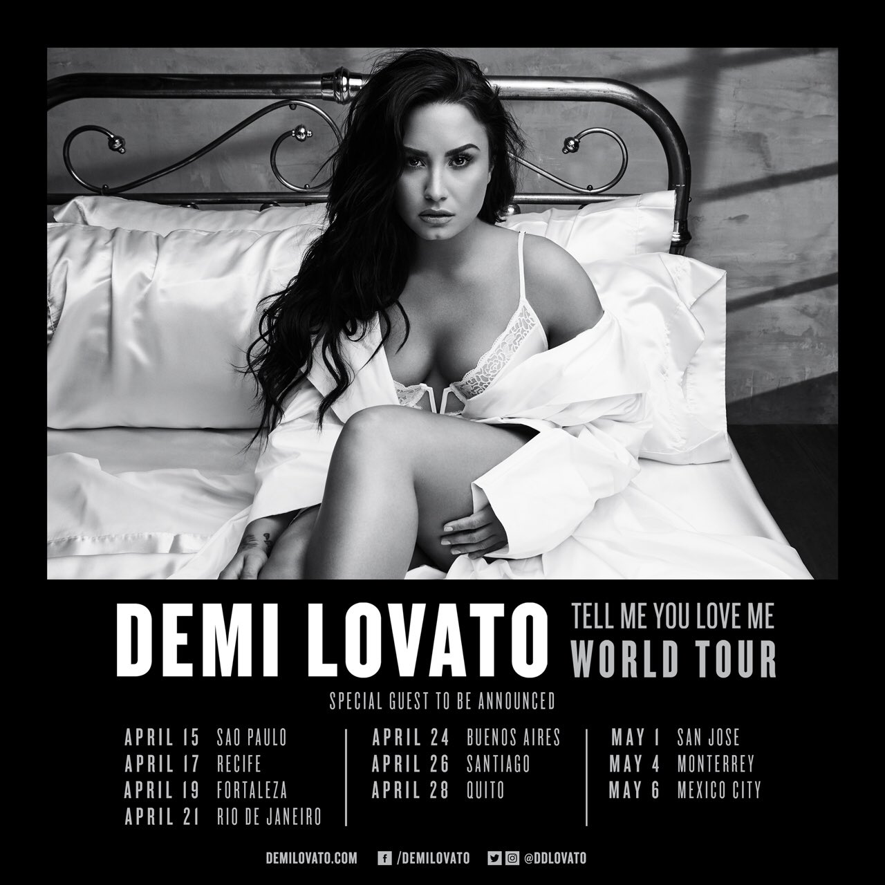 Brazil and Chile!! Tickets for the #TellMeYouLoveMeTour are on sale now ������ https://t.co/FdRYQe0I9Y https://t.co/4QuZXb1gRn