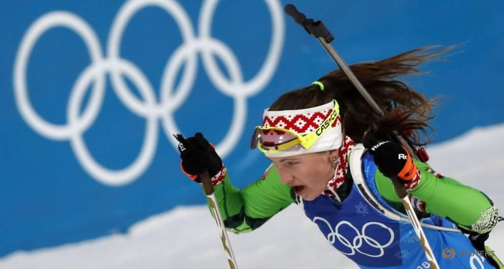 Domracheva claims relay gold for Belarus