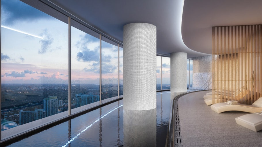 Aston Martin's luxury condo revs up for 2021 completion