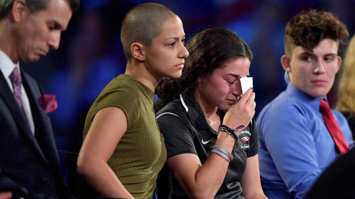 Florida Shooting Survivors Face Down The NRA And Politicians, Vow To Keep Fighting