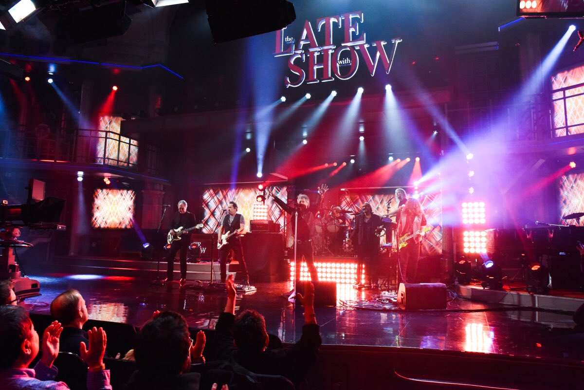 Tune into the @colbertlateshow tonight, Feb 22, to hear our live debut of #WhenWeWereUS! https://t.co/CdF0xvxjLS