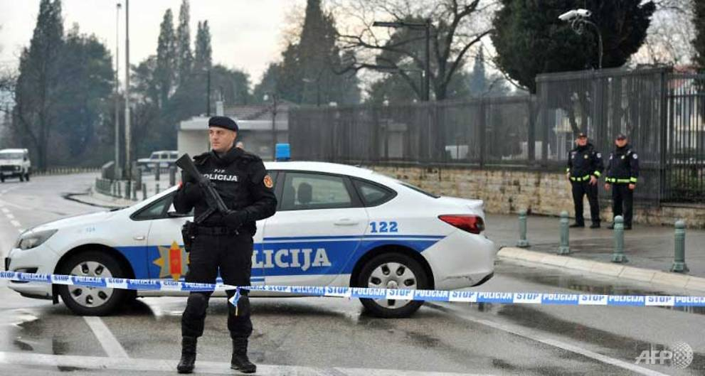 Suicide bomber throws grenade into US embassy compound in Montenegro