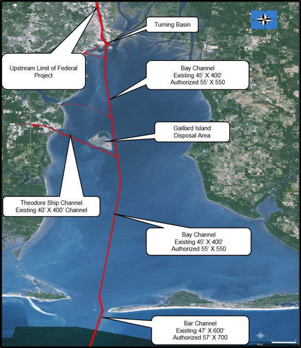 Public meeting Thursday on plan to enlarge Mobile Ship Channel