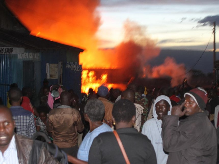 Property worth millions lost in Kabarnet town fire