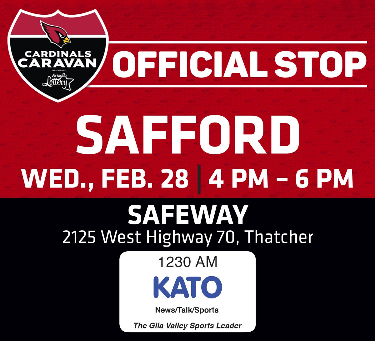 The Cardinals Caravan is back!!  Our first stop is next week!  Go to https://t.co/mvvag4tp1n  for more info. https://t.co/TfxR4H1XFX