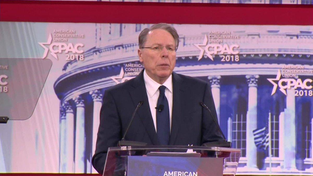 NRA's CEO Slams Democrats, Warns Against PushingSocialism