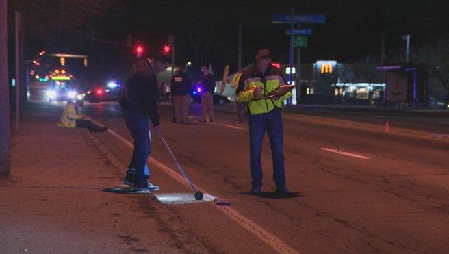 Police searching for dark-colored sedan in Warwick hit-and-run