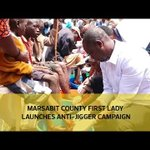 Marsabit county first lady launches anti-jigger campaign