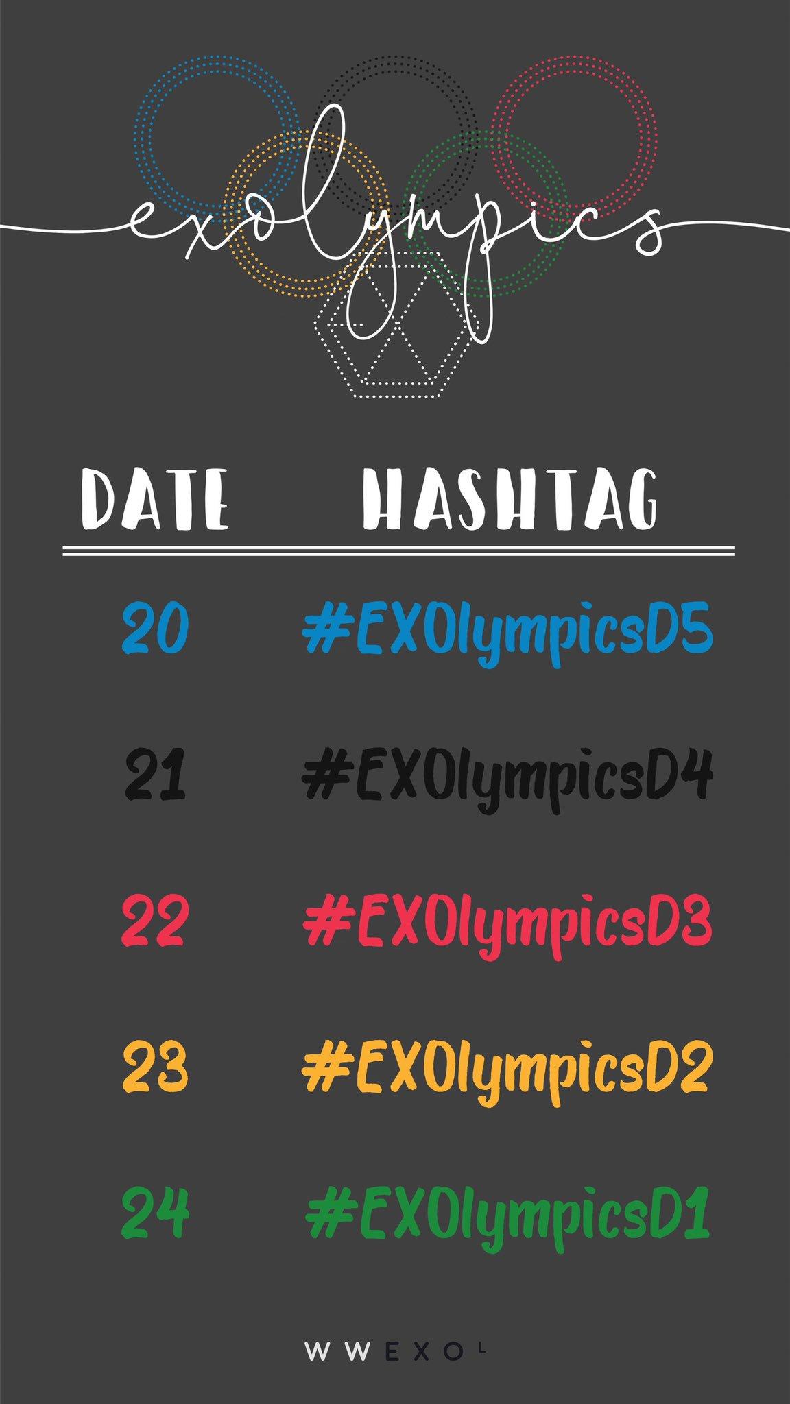 �� EXOLYMPICS COUNTDOWN ��  ��9000 RTS ��  ��4000 REPLIES ��  #EXOL #BestFanArmy #iHeartAwards @weareoneEXO #EXOlympicsD2 https://t.co/b9XvAfWyRU