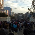 25 injured in Eldoret during riots between hawkers and county askaris