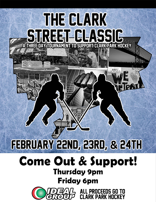 test Twitter Media - Today is the day! Come out and support our hockey team at The Clark Street Classic. https://t.co/s0CcxGvPvQ