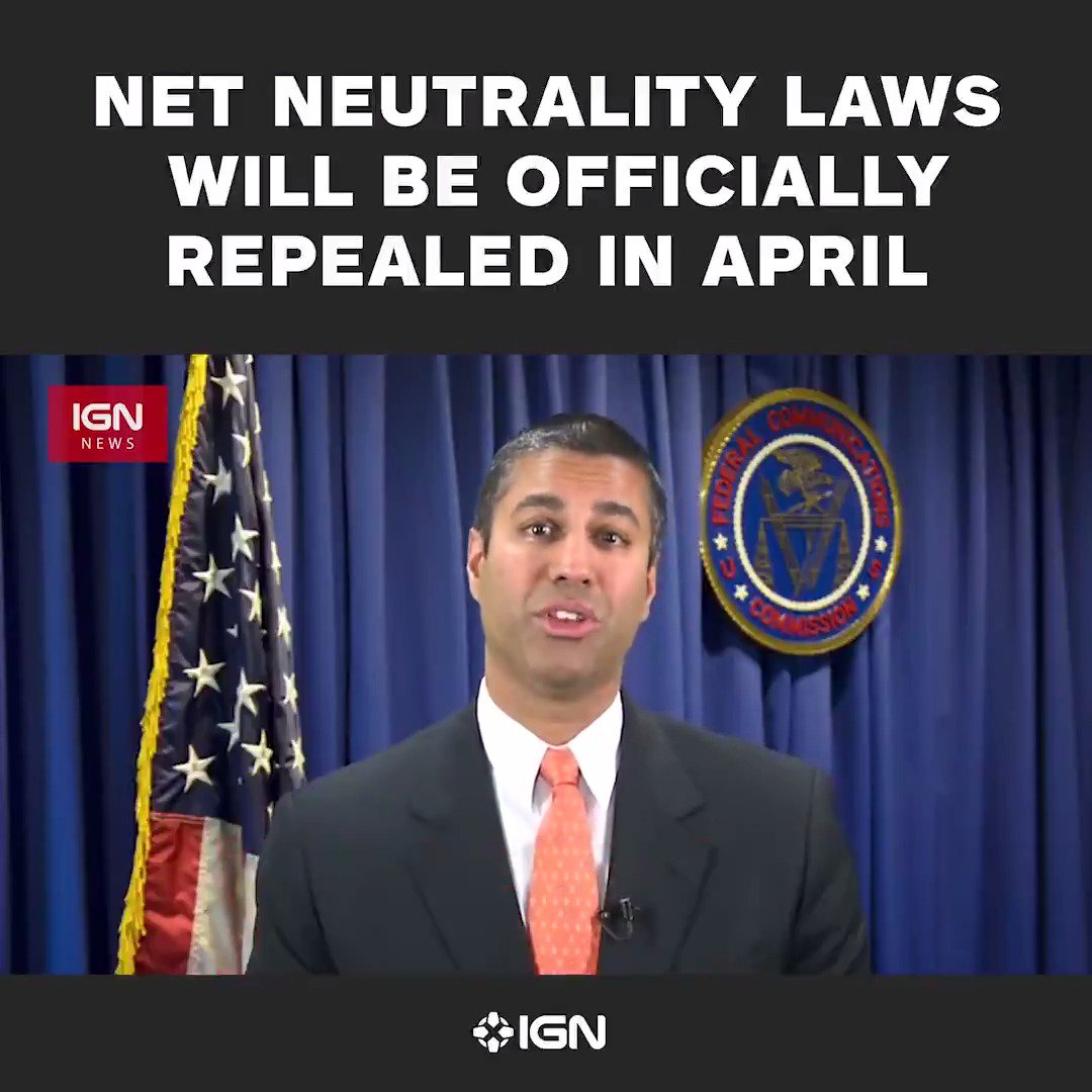 NetNeutrality is coming to an end in AprilRead mor