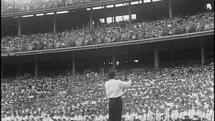 The day Billy Graham transfixed a massive MCG crowd