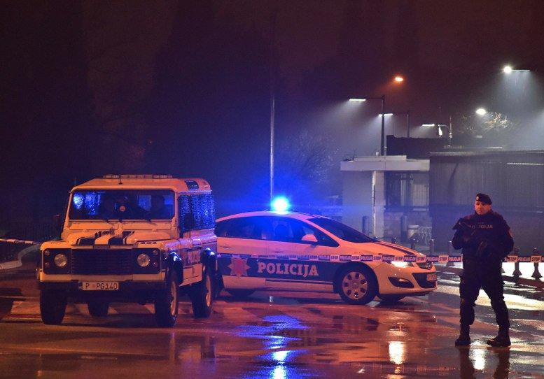 Lanzan explosivo contra embajada de Estados Unidos en Montenegro