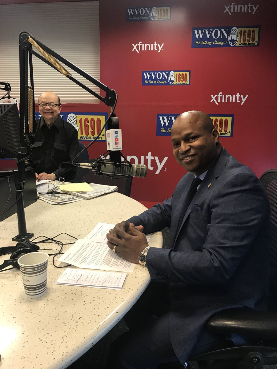 test Twitter Media - Honored to appear on the Cliff Kelly Radio Show on @wvon1690 to talk Higher Education and more.  One thing we discussed is how Bruce Rauner and his buddy @Paulvallas devastated Chicago State University and our higher education system. https://t.co/g1hcIPyfok