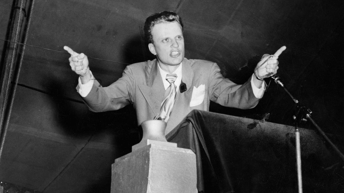 Billy Graham was a star born in Los Angeles