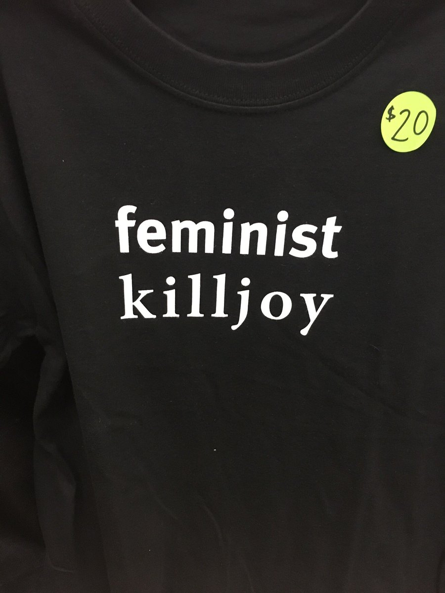 test Twitter Media - We have Feminist Killjoy t-shirts at our #CAA2018 booth for $20. Or you can buy them online https://t.co/xAPNt1TrHs https://t.co/HnDBsFAHR1