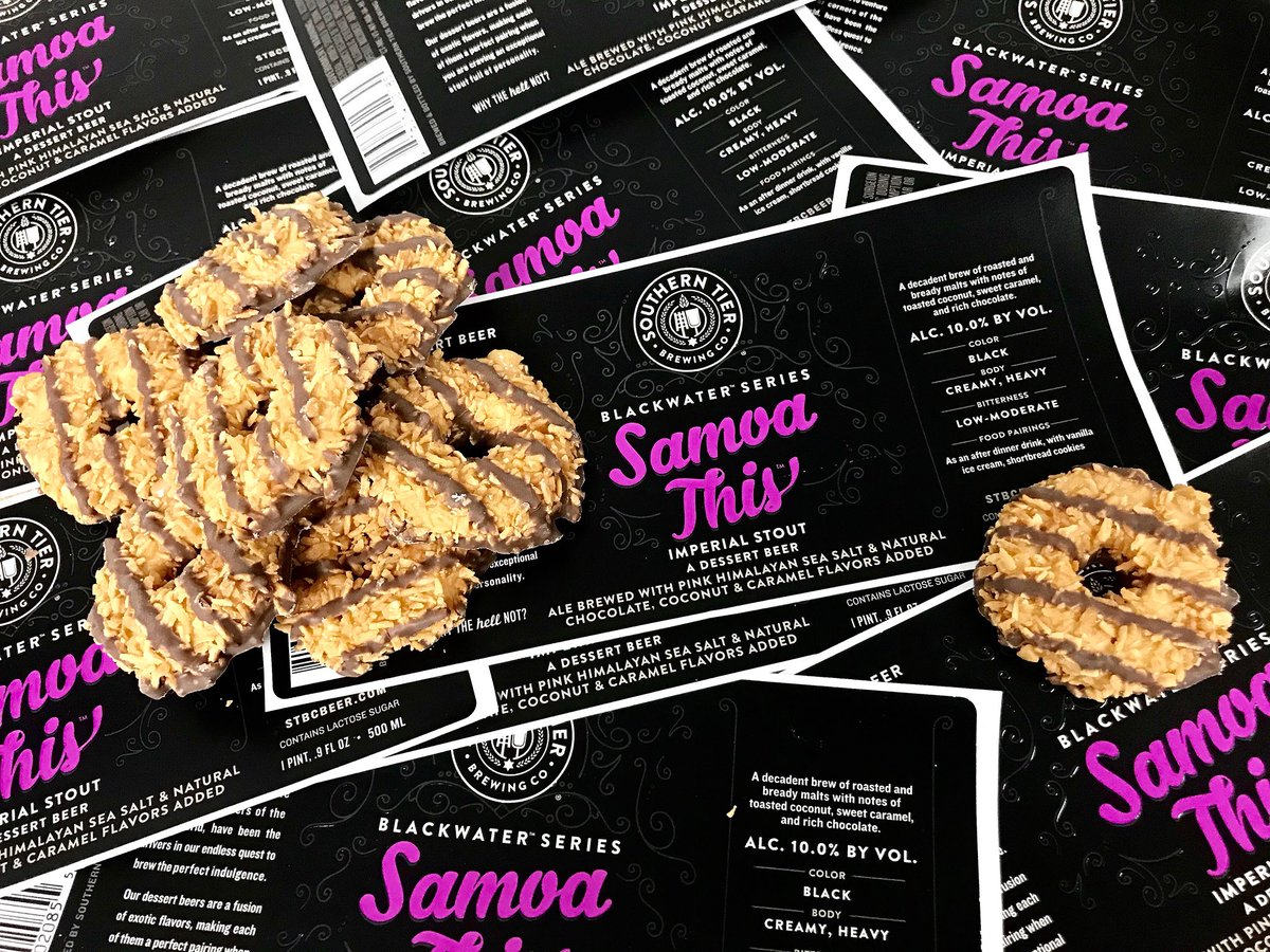 "Here's a sneak peek at a new sweet treat. We have a feeling you'll want Samoa This! <a target=""_blank"" rel=""nofollow"" href=""https://t.co/MPfFwnvSNb"">https://t.co/MPfFwnvSNb</a>"