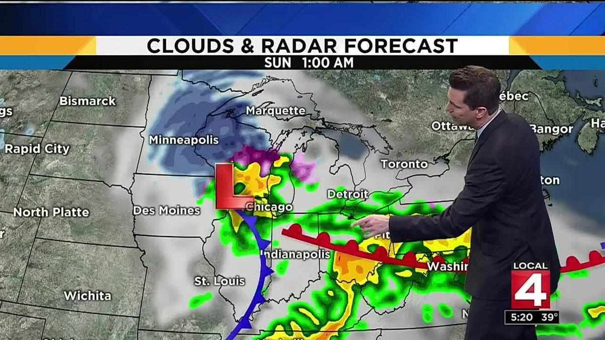 Metro Detroit weather: Chance of freezing rain Friday morning