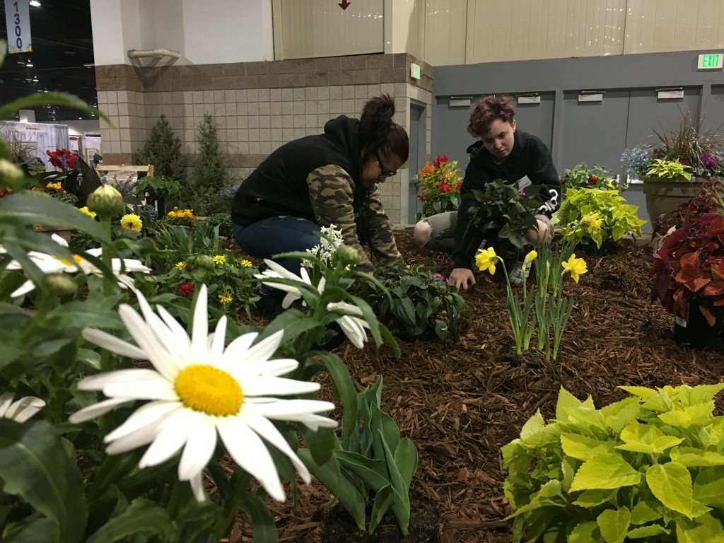 Students are bringing their landscaping skills to the Colorado Garden and Home Show