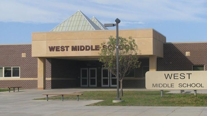 West Middle School students stage protest over gun violence