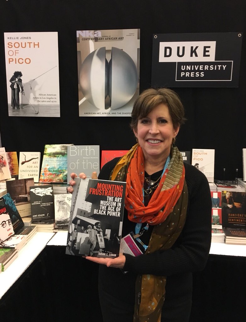 test Twitter Media - Wonderful to Susan Cahan at our booth today. Mounting Frustration is now available in paperback. #CAA2018 https://t.co/ChsnGde7ne