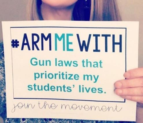 Teachers have the perfect response to Trump's suggestion that they should have guns