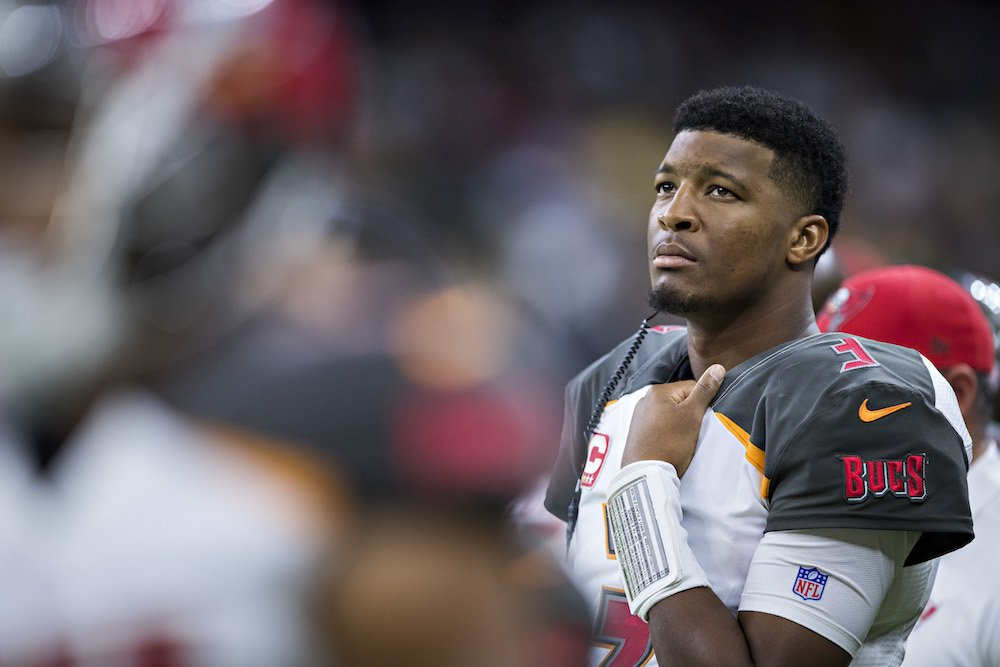 Jameis Winston uninjured in car accident, cited for careless driving, per @gregauman https://t.co/NK4UzSTBQn https://t.co/UT5mZ43Xzo