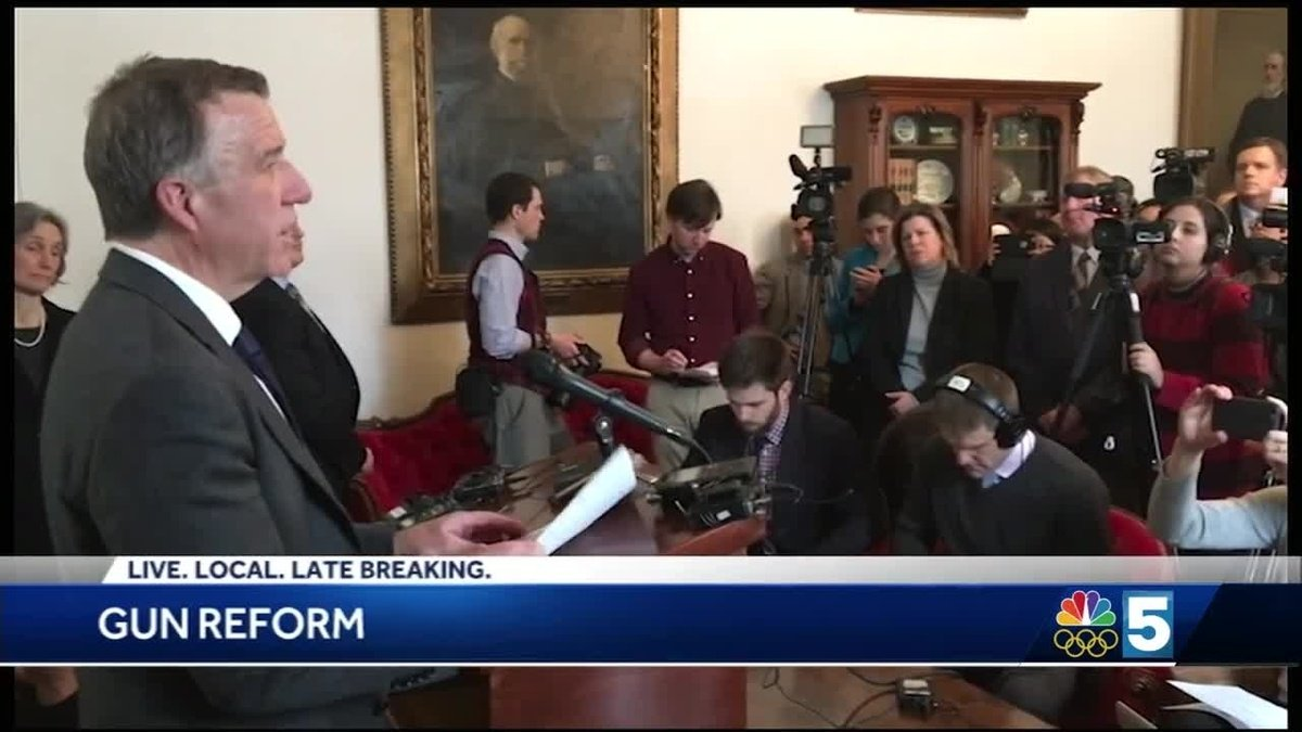 Vermont governor proposes sweeping changes to state gun laws
