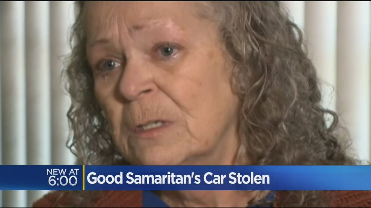 Woman With Big Heart Says Her SUV Was Stolen By Homeless HouseGuest