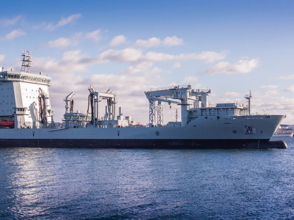 Defence department rejected putting guns on navy supply ship because of cost