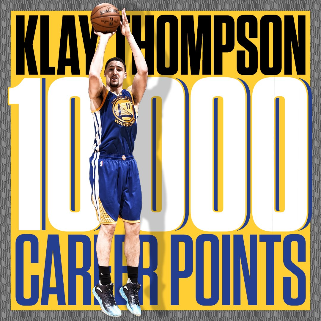 10K for Klay! https://t.co/YPNjvEJC5E